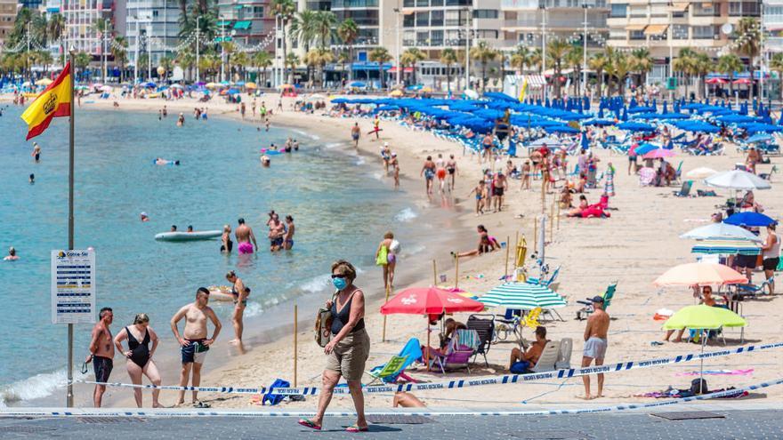 Los bañistas podrán ir a la playa de Levante sin reserva previa a partir del lunes