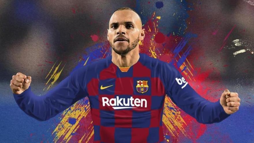 El Barça paga la clàusula de Martin Braithwaite