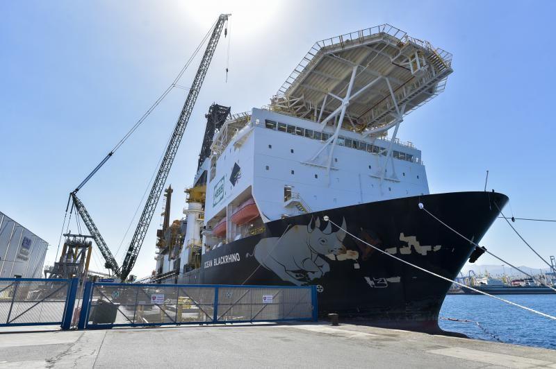 La mayor grúa de la historia del Puerto