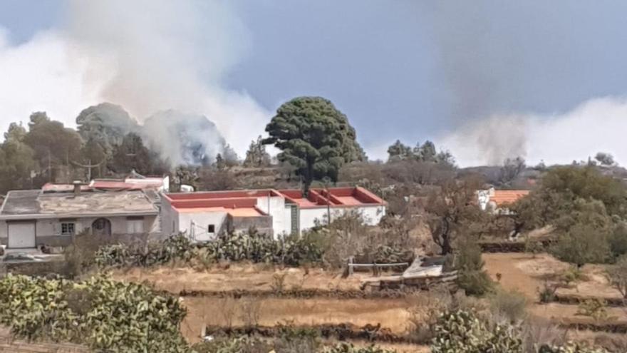 Controlan un conato de incendio en El Hierro
