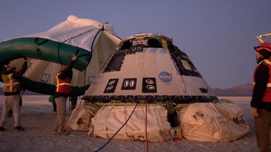 La 'Starliner' torna a la Terra després de l'intent fallit d'arribar a l'Estació Espacial Internacional