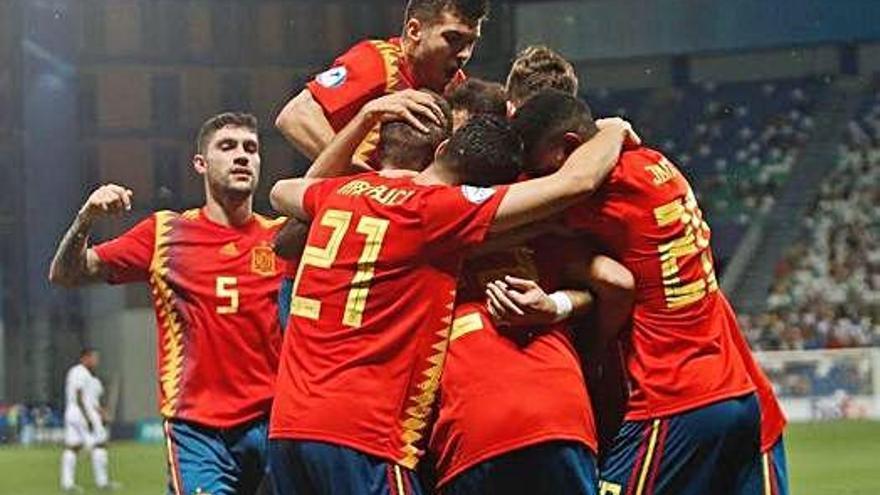 La selecció espanyola pot segellar el seu cinquè títol europeu sub21