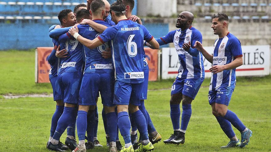 Tercera División: Para el Avilés marcar es sumar