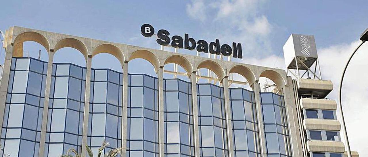 La sede del Sabadell en Alicante.  | EUROPA PRESS