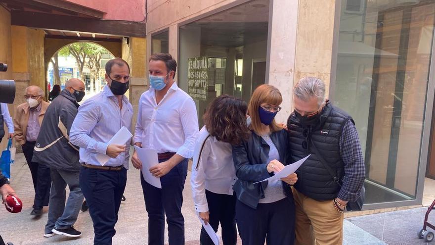 La oposición de Elche pide un pleno para reclamar más inversiones en las cuentas del Estado