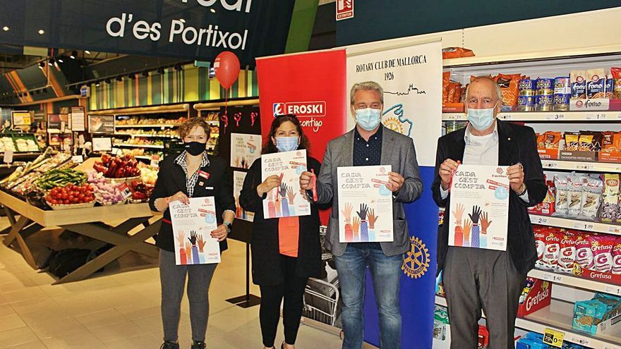 Eroski presenta la campaña 'Cada gesto cuenta'