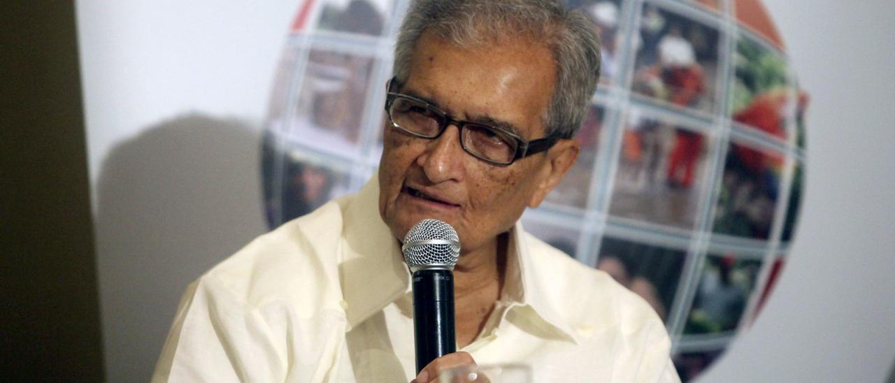 Amartya Sen, en una imagen de archivo.