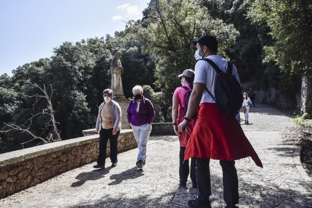 Turisme a Montserrat durant la Setmana Santa