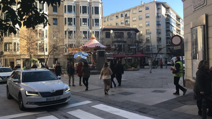 Los comerciantes del centro de Zaragoza confían en que las fiestas del Pilar sean un revulsivo económico