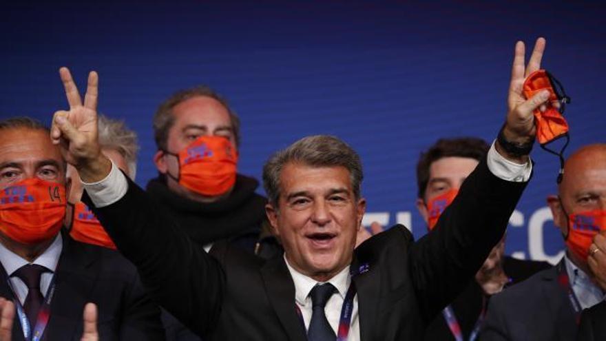 Regreso triunfal de Joan Laporta a la Presidencia del FC Barcelona