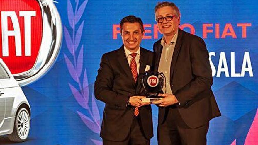 «El premi com a millor concessionari Fiat 2019 és per a tot l'equip de Garatge Sala»