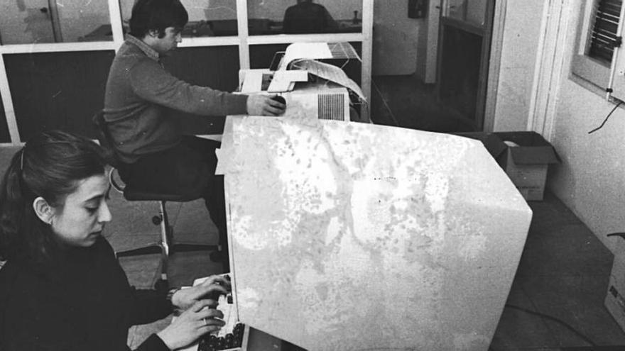 Quaranta anys del primer ordinador a l'Ajuntament de Girona