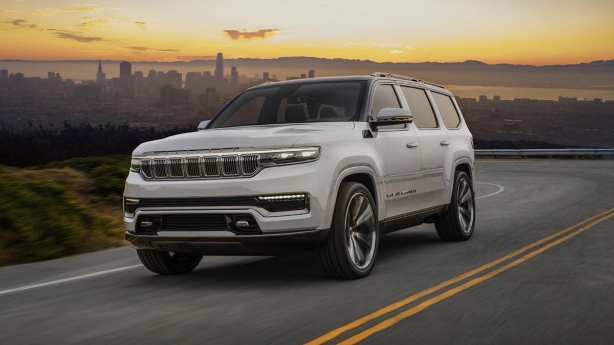 Jeep adelanta el 'renacimiento' del mito Wagoneer