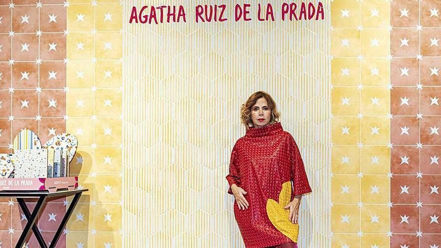 """Agatha Ruiz de la Prada: """"Mis azulejos para Pamesa son ya una institución"""""""