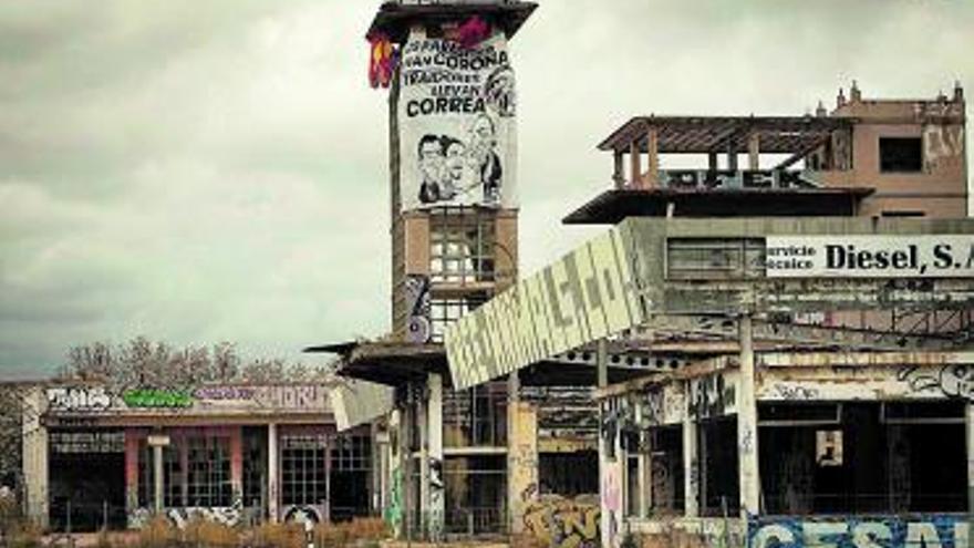 El taller del alemán: un enorme legado que pide auxilio a gritos
