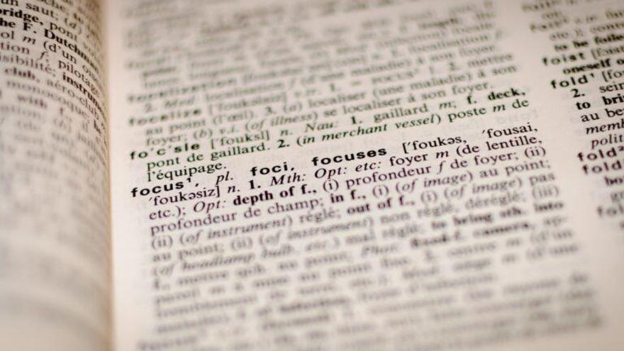 El cerebro dispone de un diccionario visual para palabras difíciles