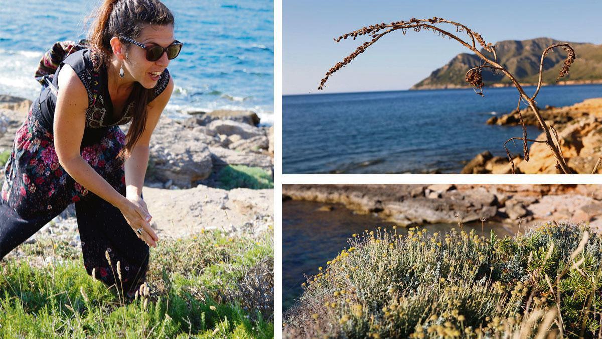 Die Katalanin Karen Navarro kennt die Inselflora, die Heilpflanzen Mexikos, des Regenwalds in Peru sowie die indische Ayurveda- und die Bachblüten-Lehre.