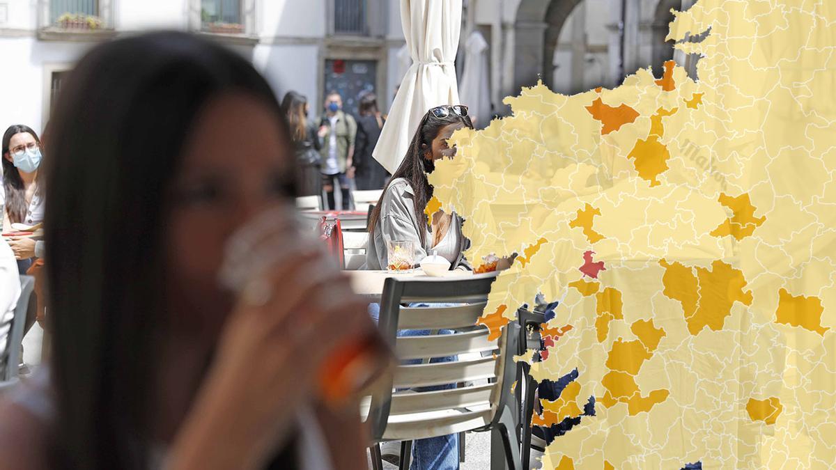 El mapa de las restricciones en Galicia del 14 de mayo