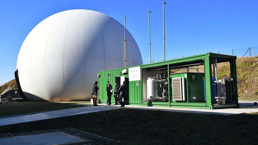 Bens prevé ser la primera instalación en volcar metano procedente de aguas residuales a la red comercial