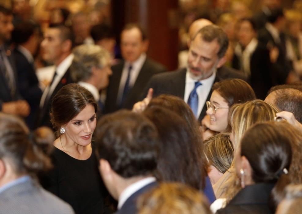 Premios Princesa de Asturias 2018: Concierto con los Reyes de España