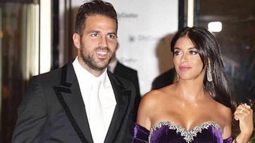 Cesc Fábregas y Daniella Semaan anuncian su compromiso