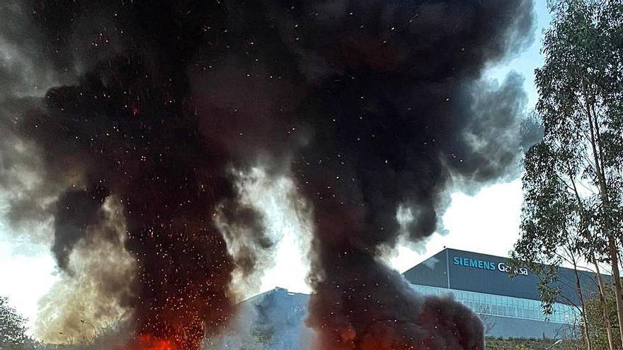 Siemens Gamesa anuncia el cierre de su planta de As Somozas con 215 despidos