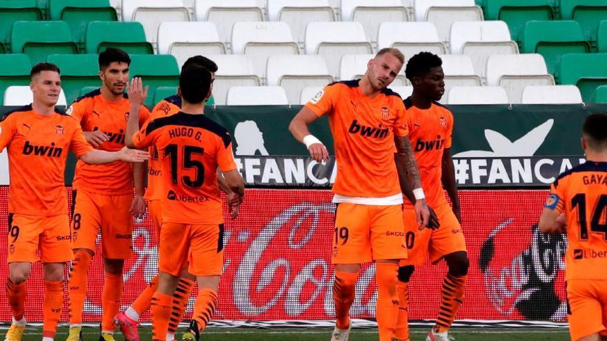 El Valencia rasca un punto en el Villamarín