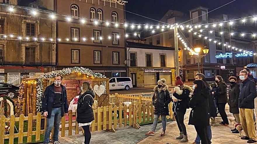 Piloña enciende su Navidad con 300.000 puntos de luz