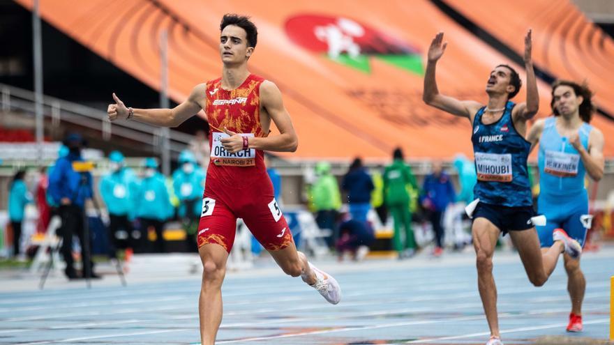 Pol Oriach acaba cuarto en el 1.500 del Mundial sub-20