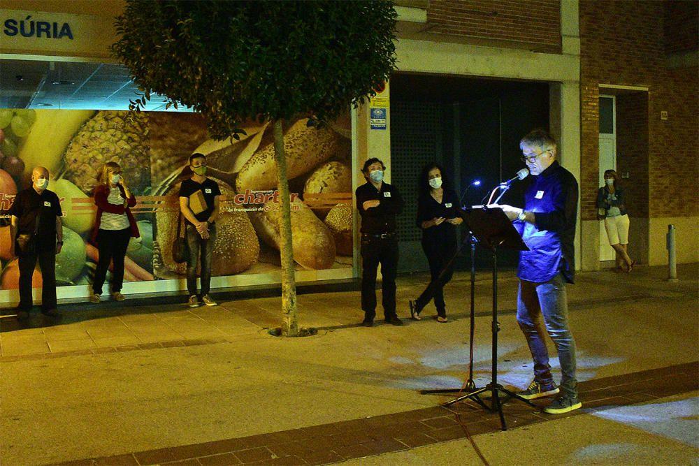 Un passeig literari per celebrar els 70 anys de la Biblioteca Pública de Súria