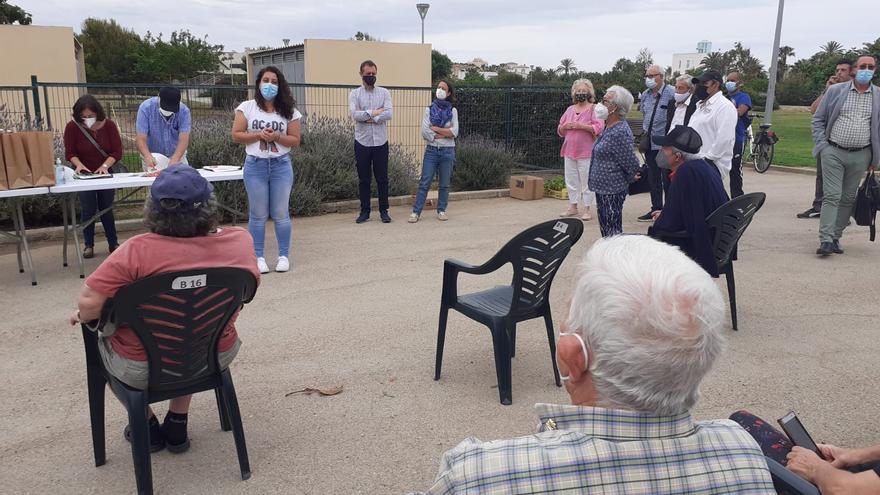 El Ayuntamiento de Palma entrega todos los huertos urbanos
