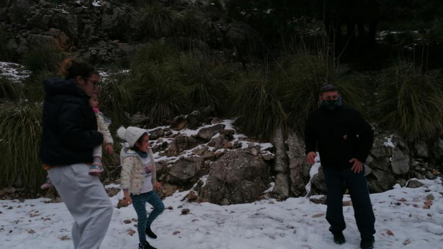 Hoy, nuboso en Baleares con precipitaciones de nieve desde los 400 metros