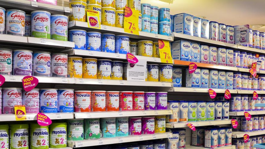 Sanidad pide no consumir alimentos infantiles Modilac y Blemil por salmonella