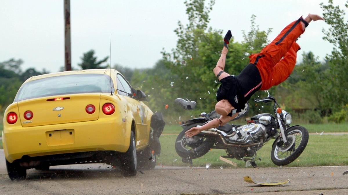 La moto es 17 veces más peligrosa que el coche