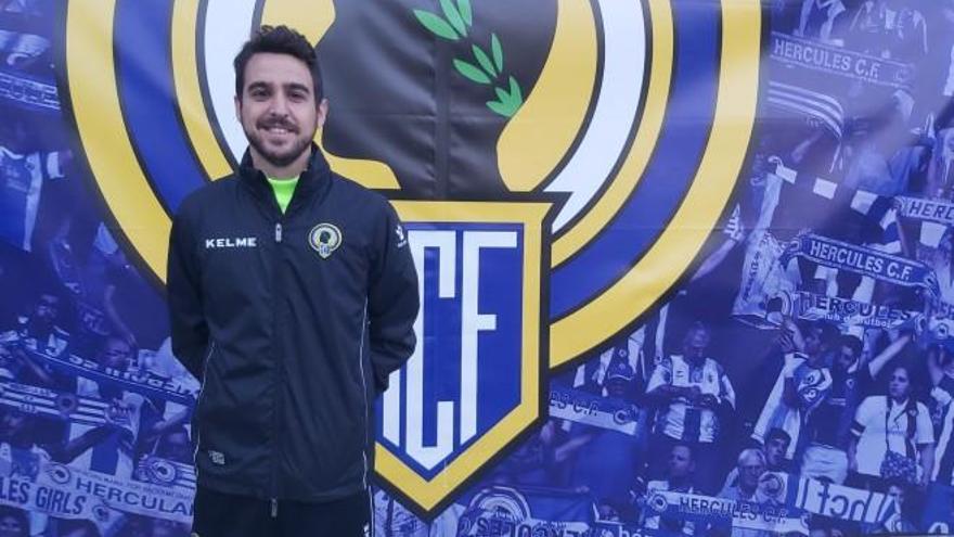 Carlos de las Cuevas sustituye a Antonio Moreno al frente del Hércules B
