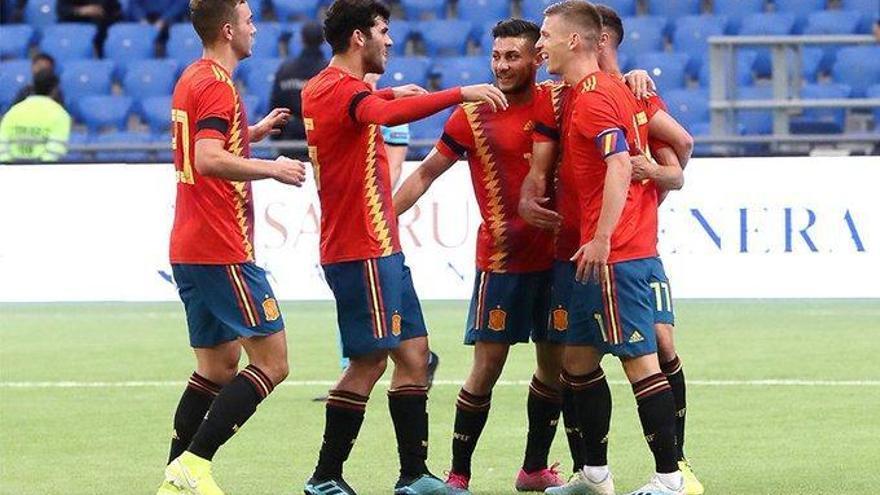 España quiere crecer frente a  Montenegro