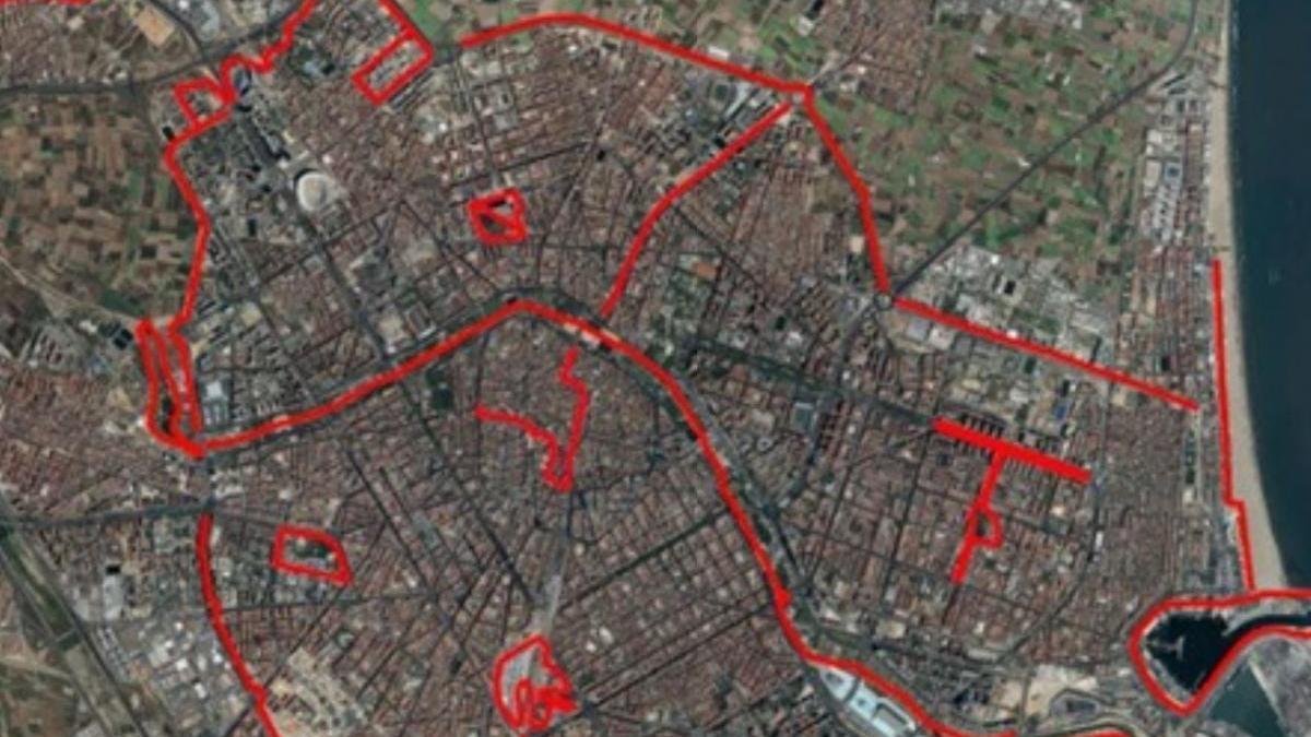 """Estos son los circuitos de """"running"""" para València a partir del sábado"""