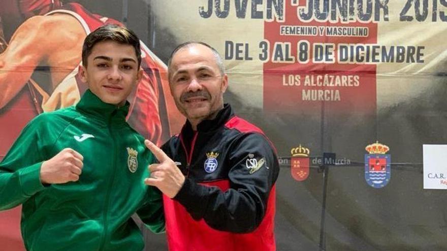 Rafa Lozano estará en el Europeo júnior