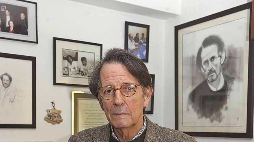 Fallece a los 80 años el dramaturgo, editor y crítico literario coruñés Francisco Pillado