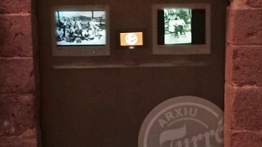 La família Turró de Castelló exposa el seu arxiu fotogràfic a la plaça de les Cols