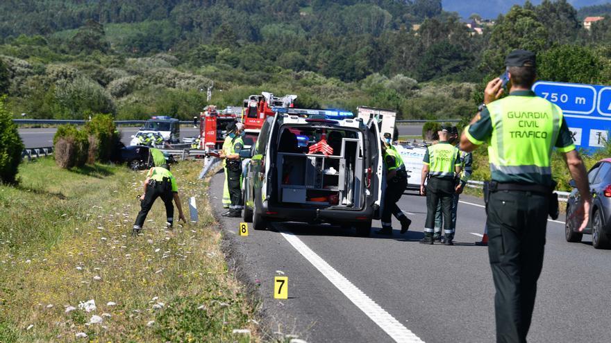 Galicia cierra 2020 con su menor cifra anual de víctimas de tráfico