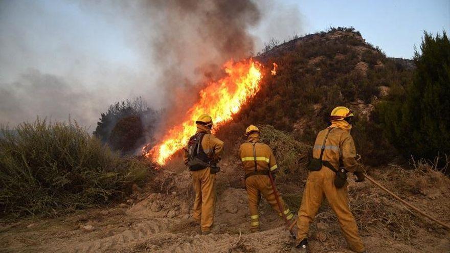 Más de 1.200 profesionales se suman a la campaña contra incendios en Aragón