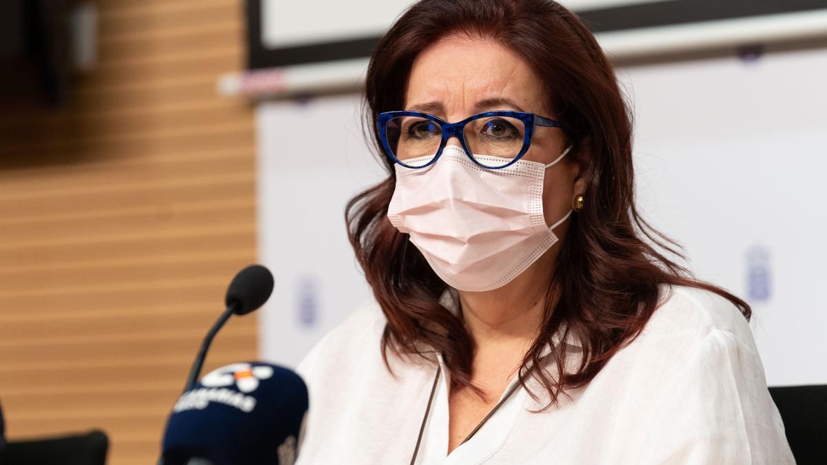 La consejera de Educación, Manuela Armas, en una comparecencia anterior.