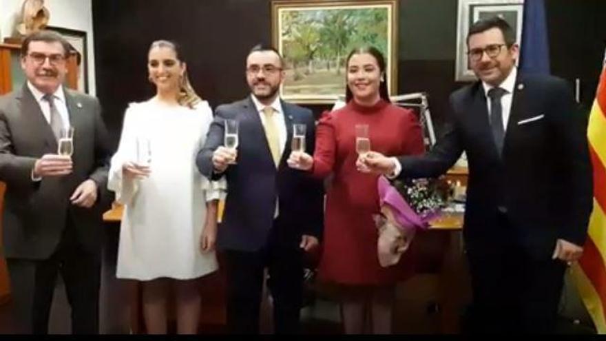María Carmona, reina de las fiestas de Vila-real del 2020