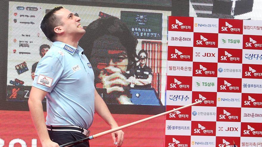 Juan David Zapata García, campeón del mundo de billar a tres bandas