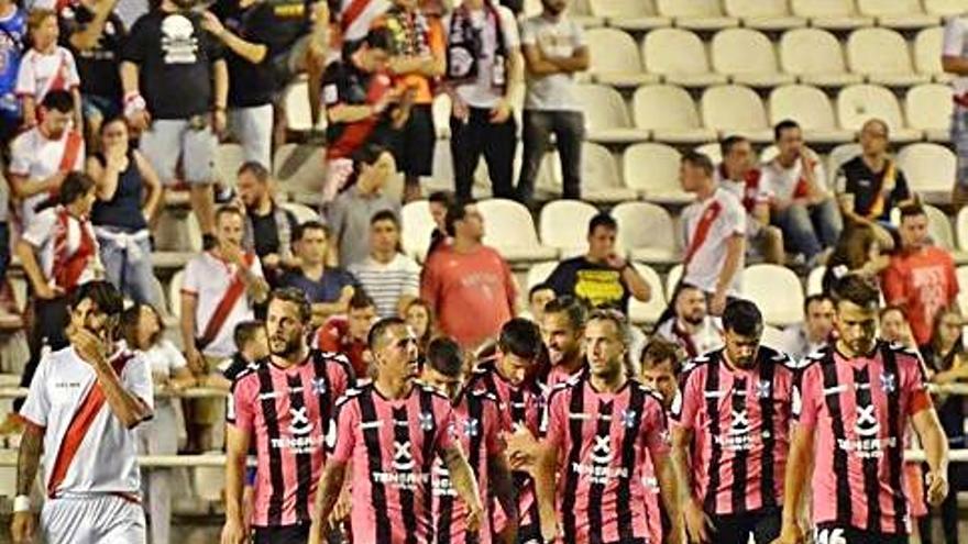 El Tenerife no gana en Vallecas en Liga desde la temporada 96/97