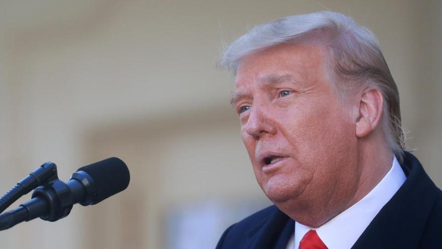 """Trump asegura tener """"todas las pruebas"""" del fraude"""