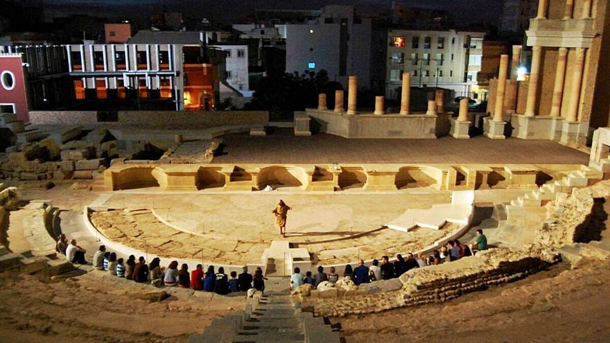 Noches de verano  en el Teatro y el Foro Romano de Cartagena