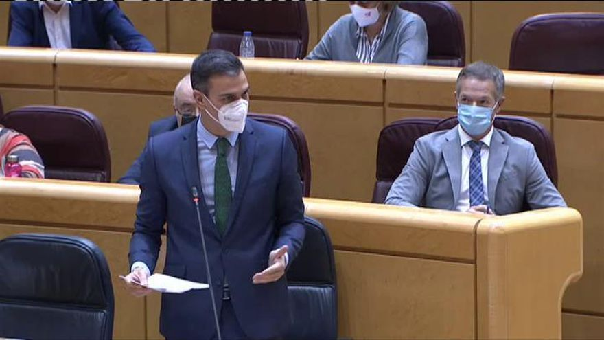 Sánchez esquiva el debate sobre EH Bildu y celebra los apoyos a los Presupuestos