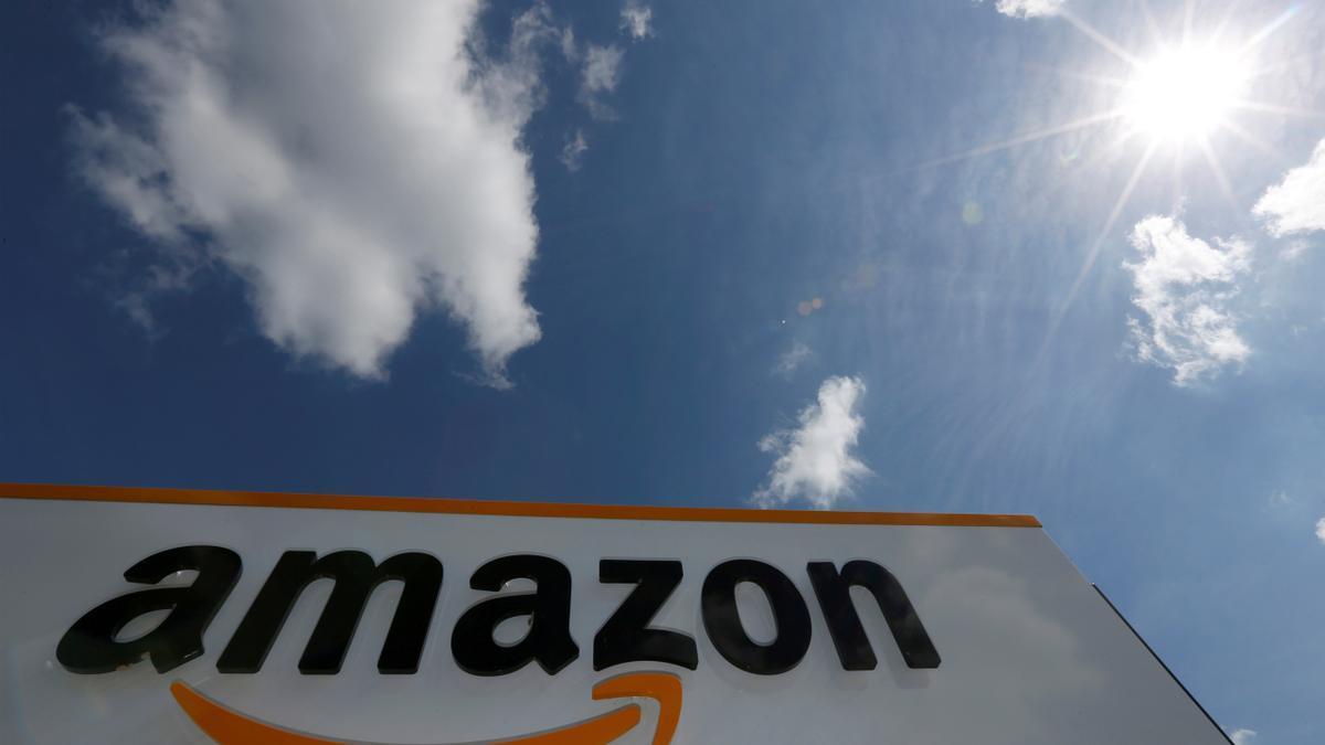 El logo de l'empresa Amazon